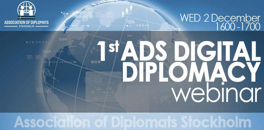 Webinar on digital diplomacy