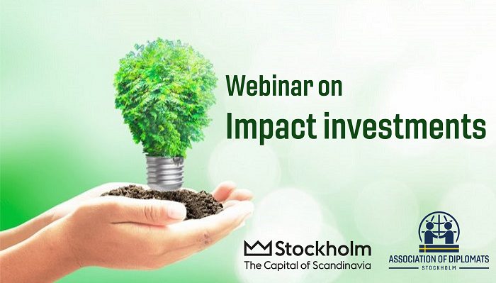 Webinar on Impact investments