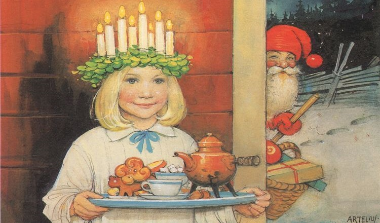 Swedish holiday traditions with the Swedish Institute