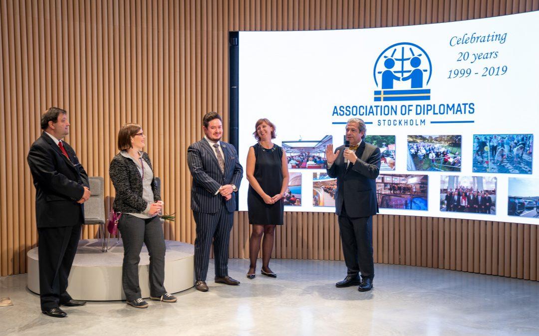 Association of Diplomats Stockholm – 20th anniversary